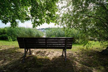 idylle am Ufer des Flusses Havel in Töplitz von Heiko Kueverling