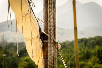 Mast van een zeilboot van Pascal Raymond Dorland