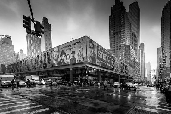 Black and White Manhattan