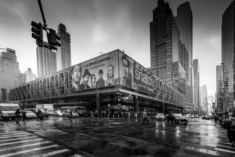 Black and White Manhattan van Dennis Donders