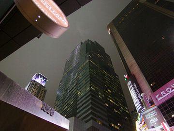 New York at Night von FotoNederland / Henk Tulp