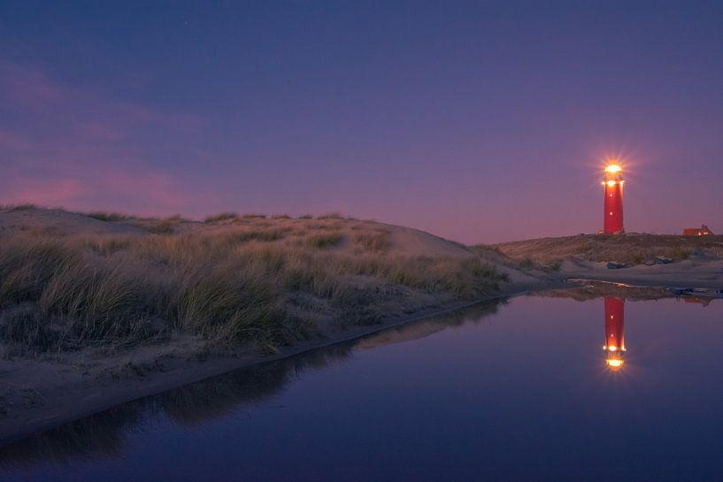 Vuurtoren Texel van Ronnie Westfoto
