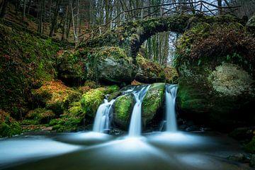 Waterfall Luxembourg von Eric Andriessen