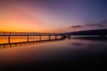 Morgendämmerung am Bodensee von Marcus Lanz