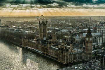Londen parlementsgebouw van John van Weenen