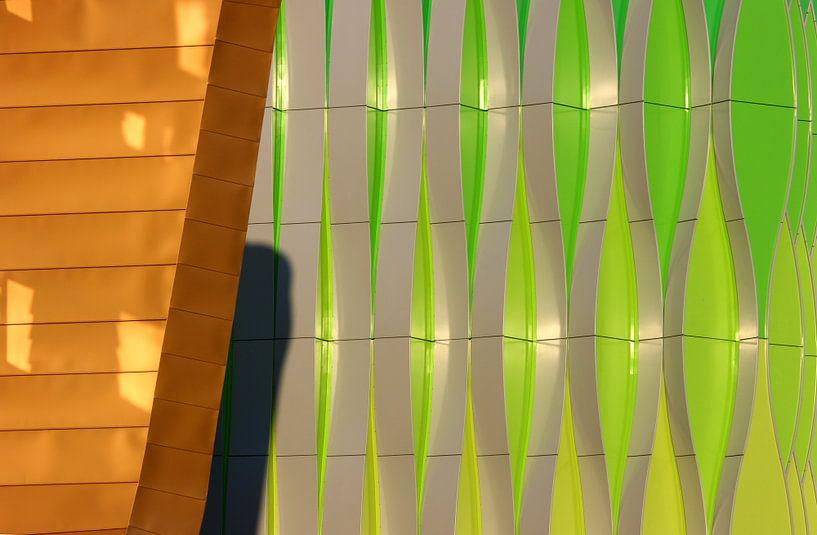 Abstract Wall van Sander van der Werf