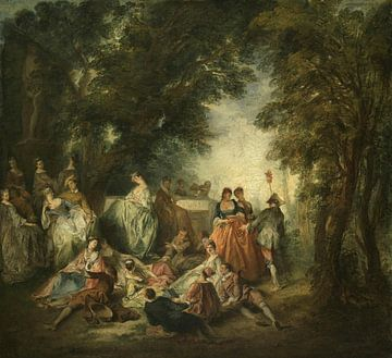 Fête Galante, Nicolas Lancret