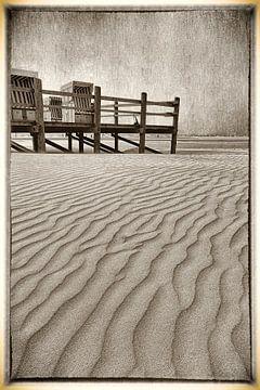 Noordzee wind 05 van Erich Krätschmer