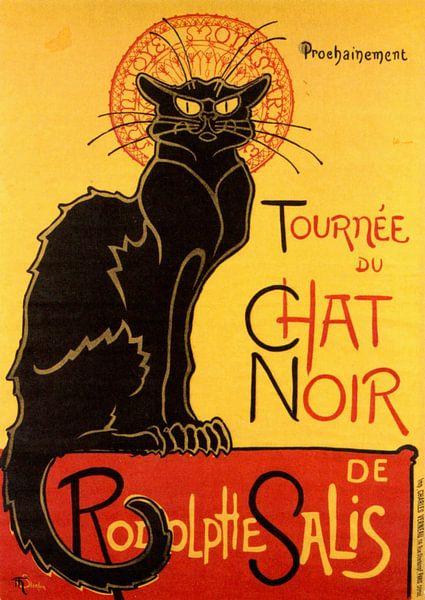 Tournée du Chat Noir van Prints in Paris