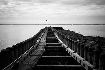 Am Ende des Horizonts scheint immer das Licht von Fotografie Jeronimo