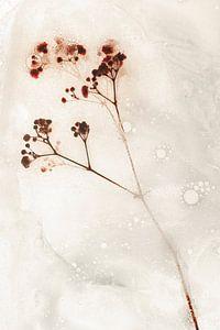 Bloemen om zeep geholpen 1 van