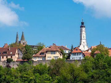 Stadsgezicht van Rothenburg ob der Tauber van Animaflora PicsStock