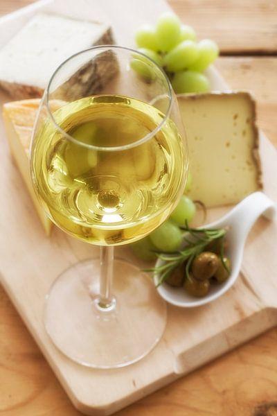 Wijn en kaas van Uwe Merkel