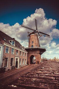 Molen Rijn en Lek - Wijk bij Duurstede (Nederland) van Dirk-Jan Kraan