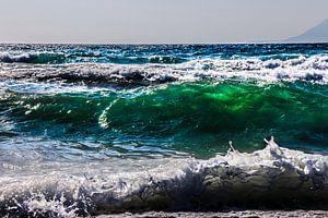 Groene Golf van gisela merkuur