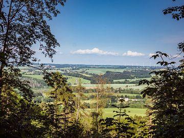 Blick über das Erzgebirge in Sachsen von Animaflora PicsStock