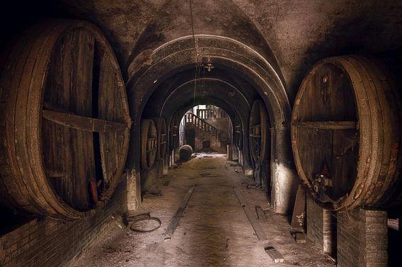 Verlaten Wijnkelder.