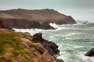 Ruwe kust Ierland van Astrid Volten