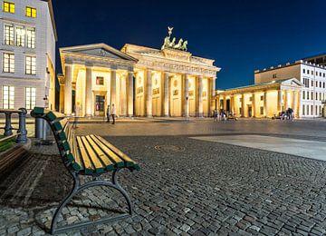 Berlin, Brandenburger Tor von Frank Herrmann