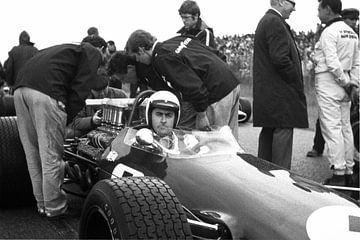 Jack Brabham 1968 Grand Prix Zandvoort von Harry Hadders