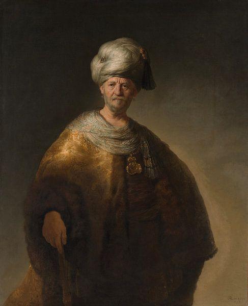 De man in oosterse dracht, De nobele slaaf van Rembrandt van Rijn