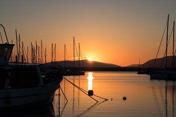Sardinien - Sonnenuntergang von Sylvana Portier