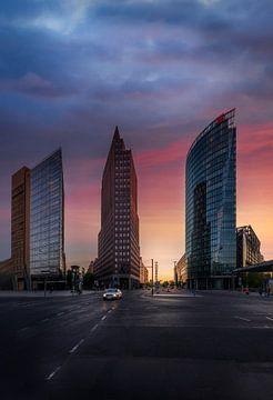Berlijn Potsdamer Platz 2020 van Iman Azizi