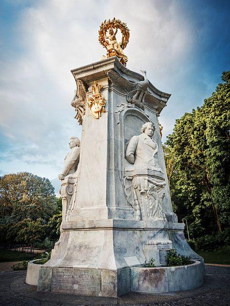 Berlin – Beethoven-Haydn-Mozart Memorial van Alexander Voss
