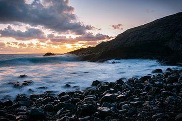 Zonsopgang aan de Spaanse kust van Bjarne Vijfvinkel