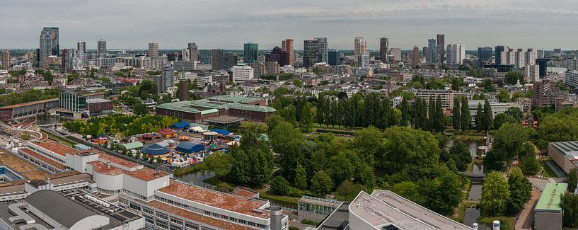 Panorama Rotterdam noord van Erik van 't Hof