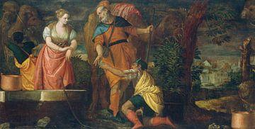 Rebecca am Brunnen, Paolo Veronese