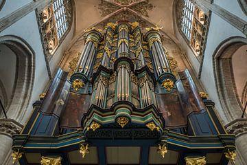 Orgel Grote Kerk Breda von Gerrit Veldman