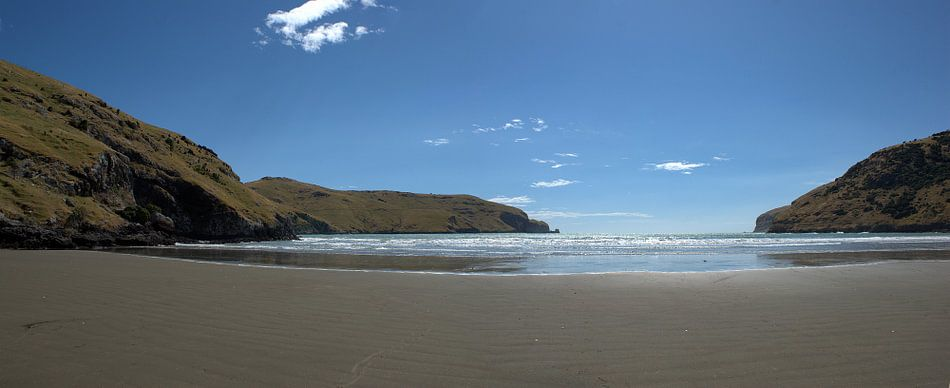 Le Bons Bay, Nieuw Zeeland van Jeroen van Deel