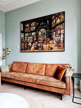 Kundenfoto: Apelles malt Kampaspe - Willem van Haecht