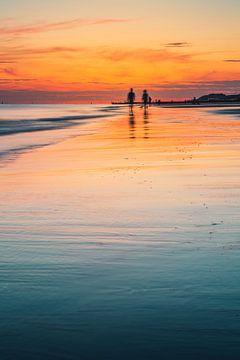 Zoutelande zonsondergang 4