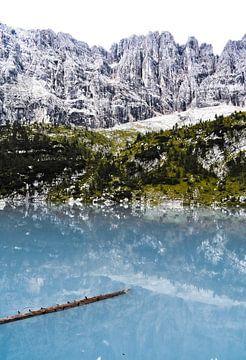 Lago di Sorapis. von Sebastiaan Peek