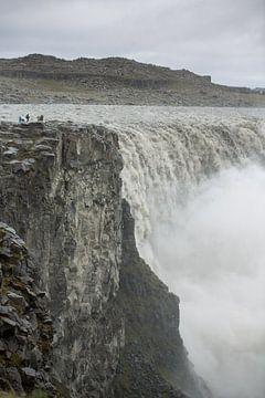 Detifoss waterval IJsland sur