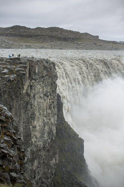 Detifoss waterval IJsland von Menno Schaefer