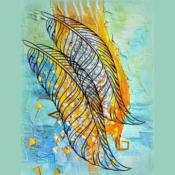 Zwei Federn von Annabella Rharbaoui