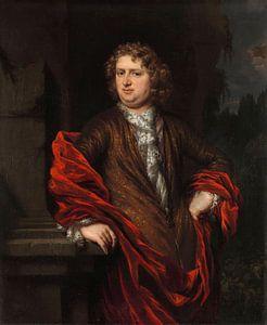 Portret van Pieter Groenendijk, Nicolaes Maes