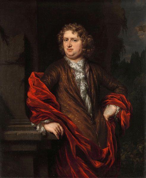 Portret van Pieter Groenendijk, Nicolaes Maes van Meesterlijcke Meesters