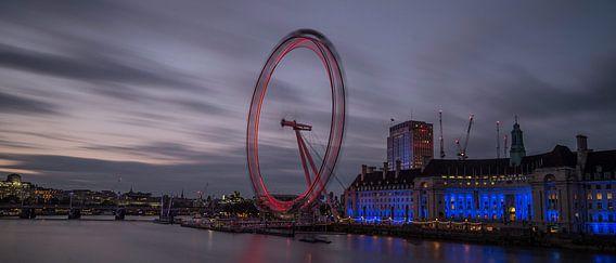 Milennium Wheel  van Hans Kool