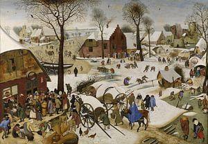 De volkstelling in Betlehem, Pieter Brueghel de Jonge von
