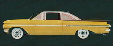 Der Chevrolet-Impala 1959 von Jan Keteleer