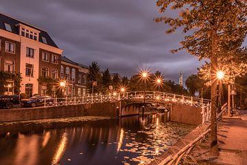 Nieuwsteegbrug, Leiden van Carla Matthee