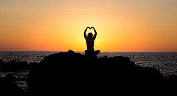 Liefdes Zonsondergang van