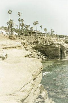 SAN DIEGO Sunset Cliffs | Vintage van Melanie Viola
