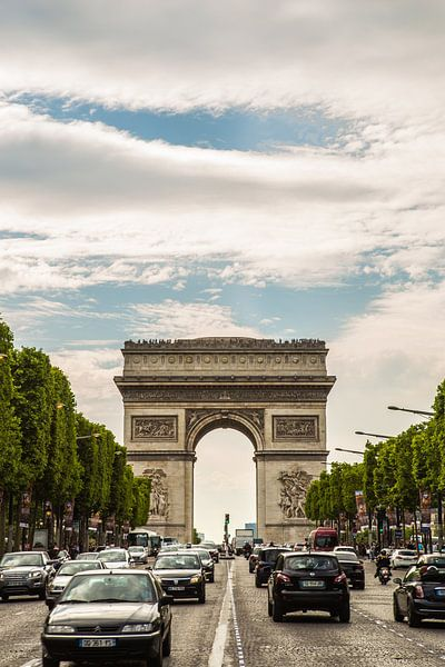 Arc de Triomphe, Parijs van Melvin Erné