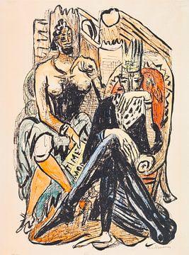 König und Demagoge, MAX BECKMANN, 1946 von Atelier Liesjes