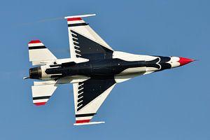 F-16 Thunderbird van